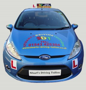 driving lessons cannock - training car